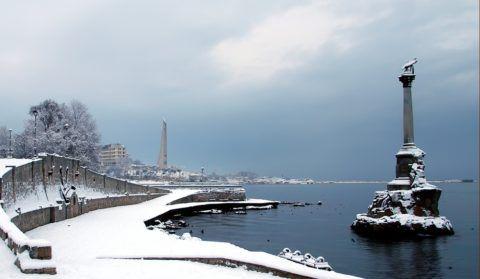 Да-да, в Крыму тоже бывает холодно