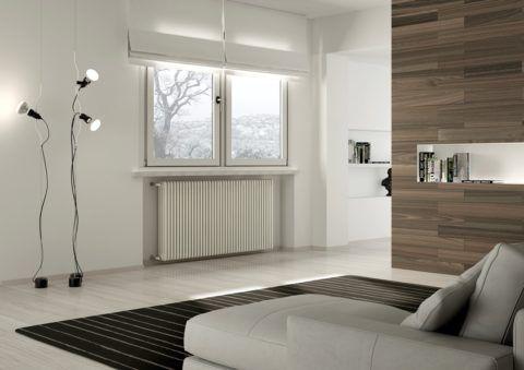Низкую температуру теплоносителя компенсирует увеличенный размер радиаторов