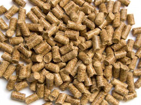 Пеллеты — недорогое топливо с высокой теплотворной способностью