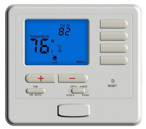 Программируемый термостат для теплового насоса