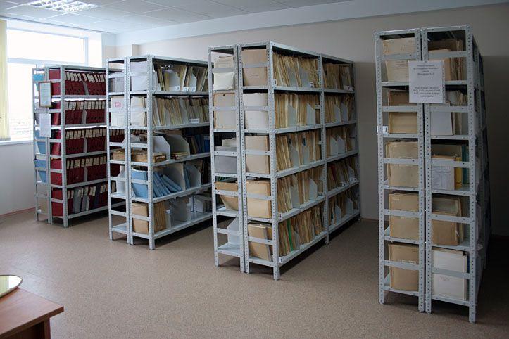 Стеллаж архивный металлический 2000х1000х500 мм 5 полок: вариант расстановки