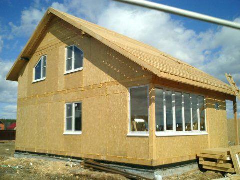 Дом-термос из сип-панелей: теплопотери через стены сведены к минимуму