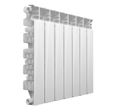 Развитое оребрение и высокая теплопроводность алюминия гарантируют высокую теплоотдачу