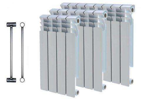 Внутри — прочная сталь, снаружи — теплопроводный алюминий