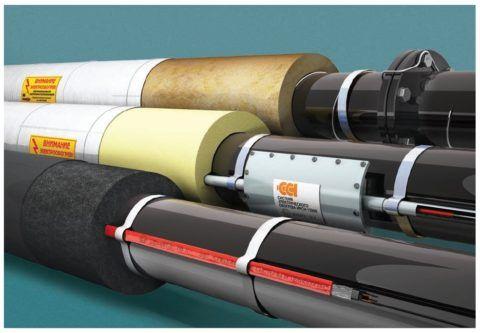 Тепловая защита трубопроводов: теплоизоляция и кабельный обогрев