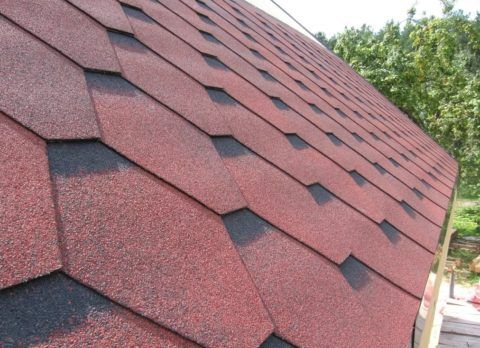 Материал крыши – битумная черепица