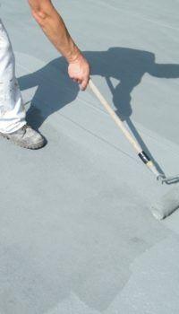 Покраска пола по бетонной стяжке