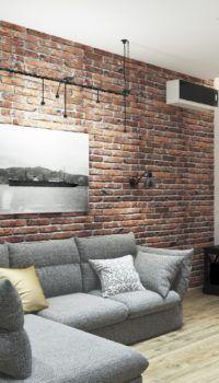 Цокольный этаж: дизайн интерьера в стиле лофт