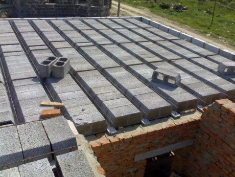 Керамзитные блоки для сборного перекрытия