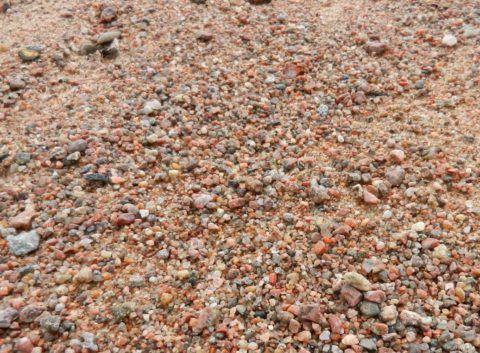 Смесь гравия и песка лучше уплотняется