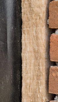 Утепление многослойной (колодцевой) стены минватой