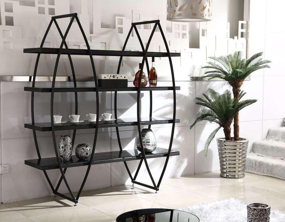 Стеллажи металлические для дома настенные обычно выполняются в оригинальном дизайне