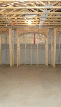 Деревянный каркас для утепления и облицовки потолка