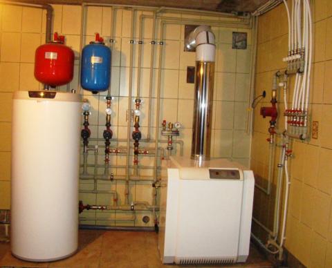 Пример оборудования технического помещения