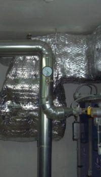 Для поддержания нормального микроклимата в помещениях полуподвала нужна система принудительной вентиляции
