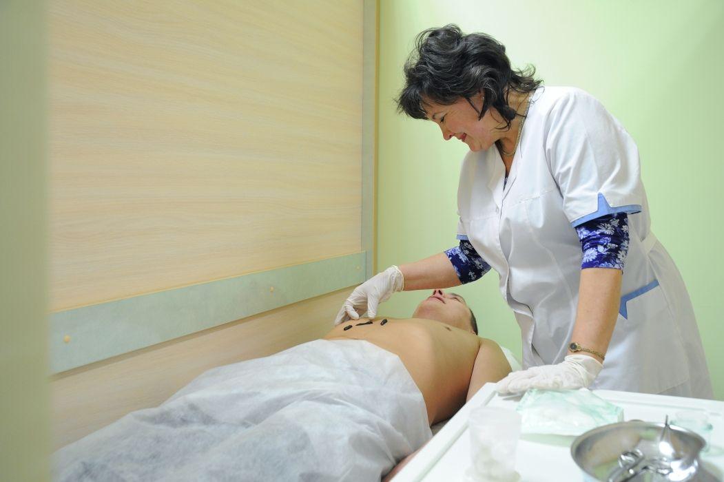 Помещение для гирудотерапии