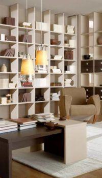 Вариант оформления просторной комнаты с нишей
