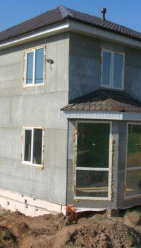 Если заливать по съёмной опалубке, то поверхность придётся готовить под отделку, например, так: обшивка ЦСП