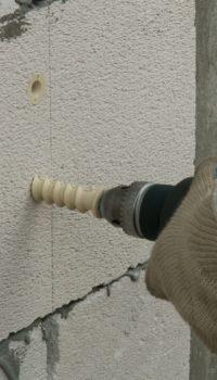 Нейлоновый дюбель для пористых стен
