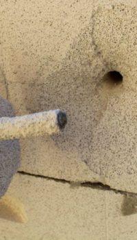 У ячеистых бетонов слабая механическая прочность