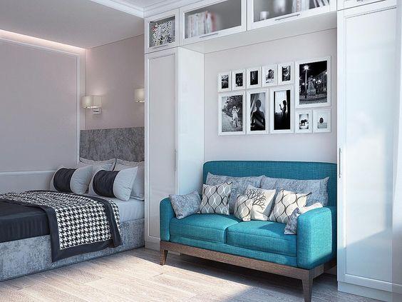 дизайн квартиры студии 20