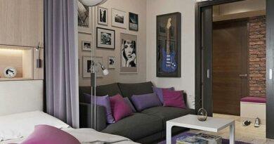 дизайн квартиры студии 25